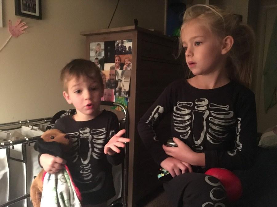 Skeleton Jammies