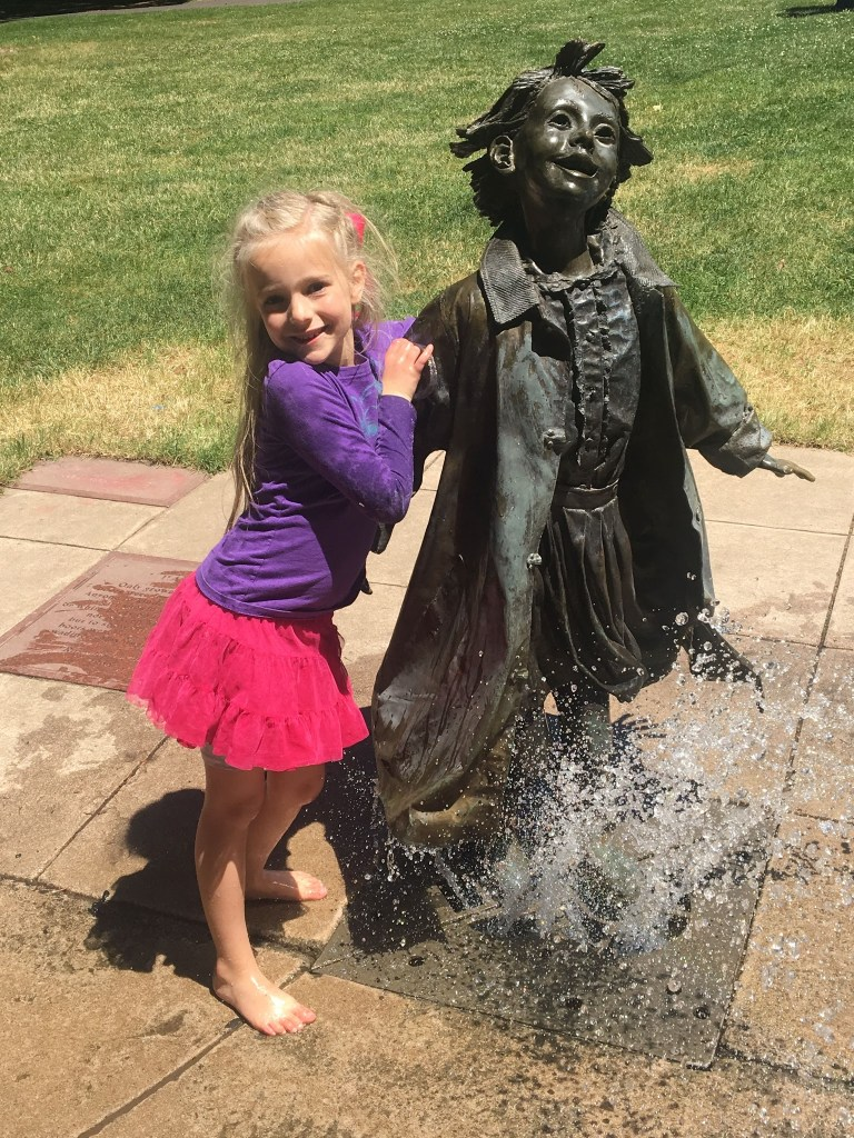 Landy and Sean's Wedding Trip: Beverly Cleary Park