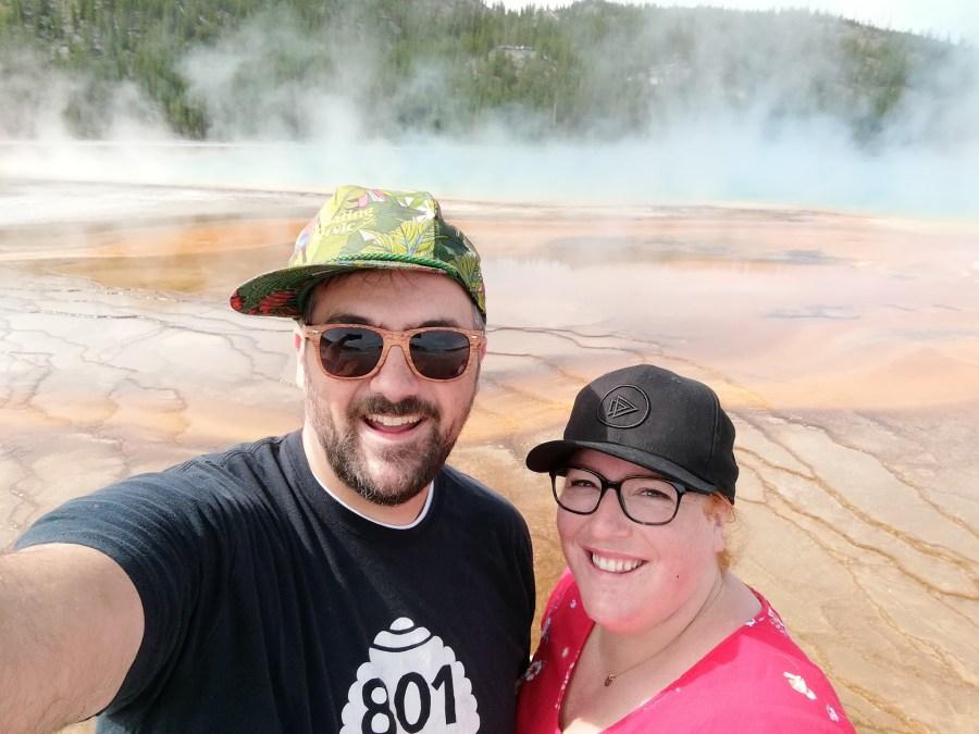 Yellowstone Day Three: Grand Prismatic Spring