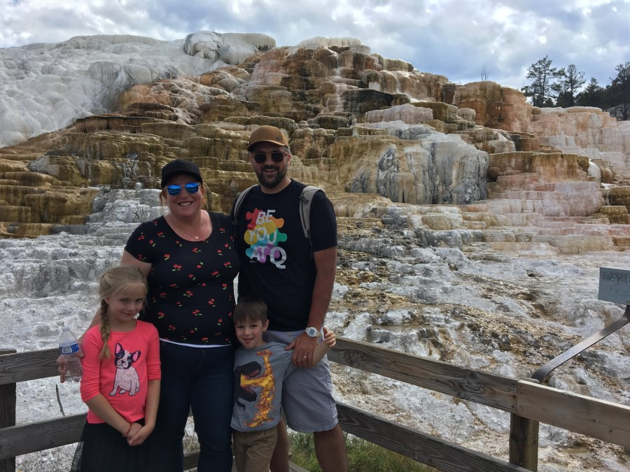 Yellowstone Day Two: Mammoth Hot Springs