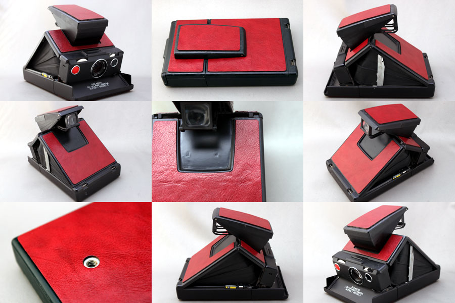 Revestimento da Polaroid SX70 - Aki-asahi Custom Camera Coverings