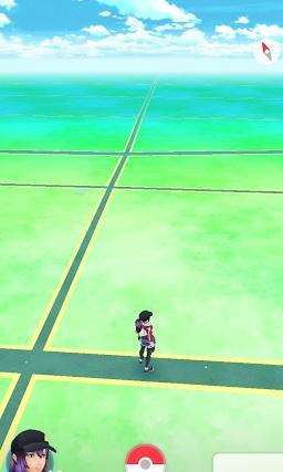 ポケモンGO田舎道