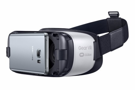 Gear VR Left Side