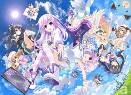 Hyperdimension Neptunia anime