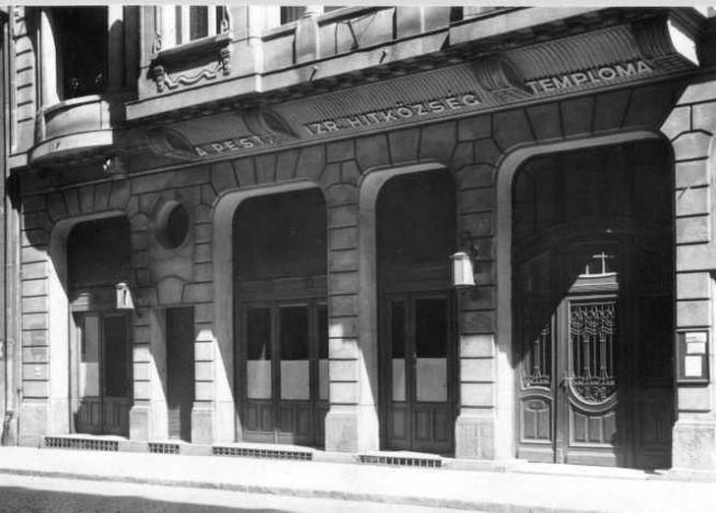 Csáky utcai, mai nevén Hegedűs Gyula utcai zsinagóga