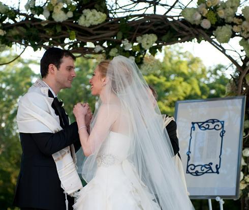 Chelsea Clinton zsidó-keresztény esküvője (illusztráció)