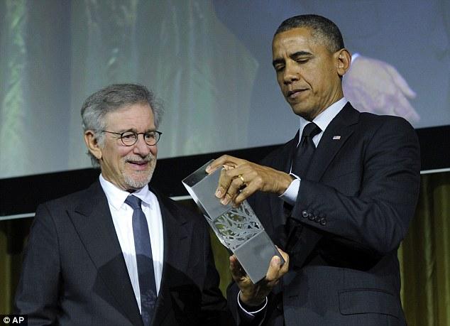 Spielberg és Obama