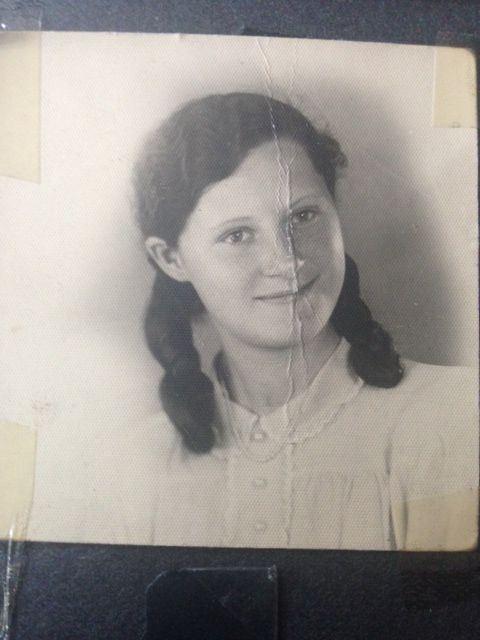 Nagymama 13 évesen