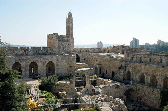 Dávid Tornya Jeruzsálemben