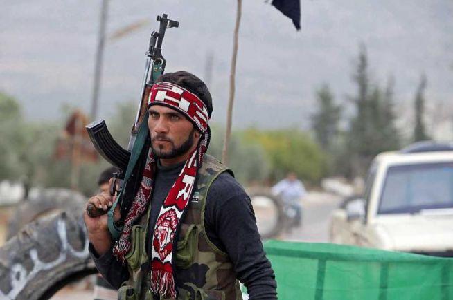 terrorista Szíriában