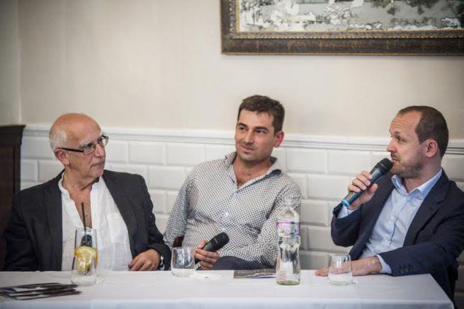 Gárdos Péter, Halmos Ádám és Daniel Kampa (Fotó: Valuska Gábor)