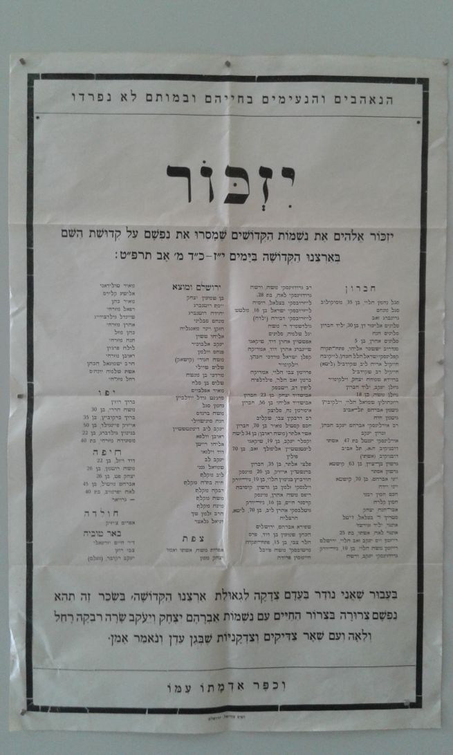 Gyászjelentés 1929-ből