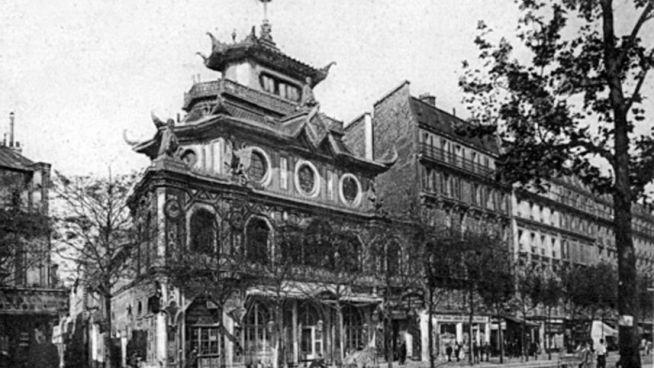 A Bataclan épülete 1900 körül