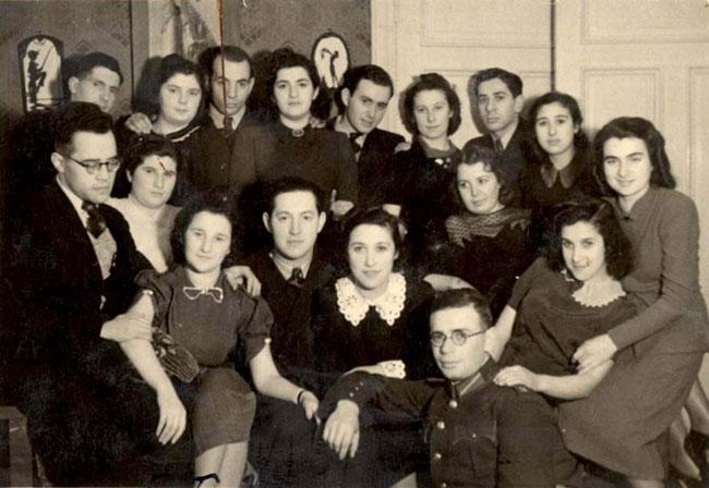 Zsidó fiatalok találkozója Lettország Riga 1939