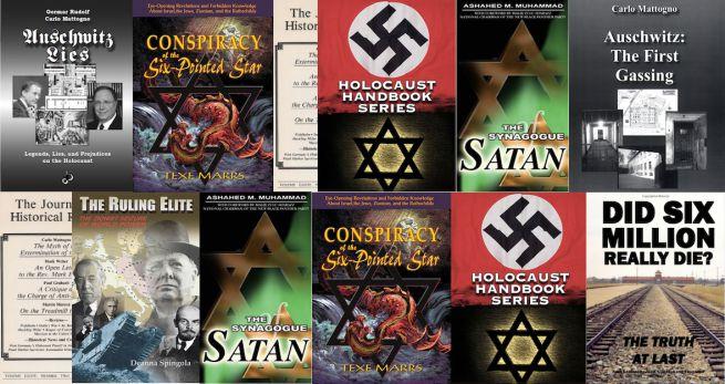 Holokauszttagadó könyvek az Amazon kínálatában