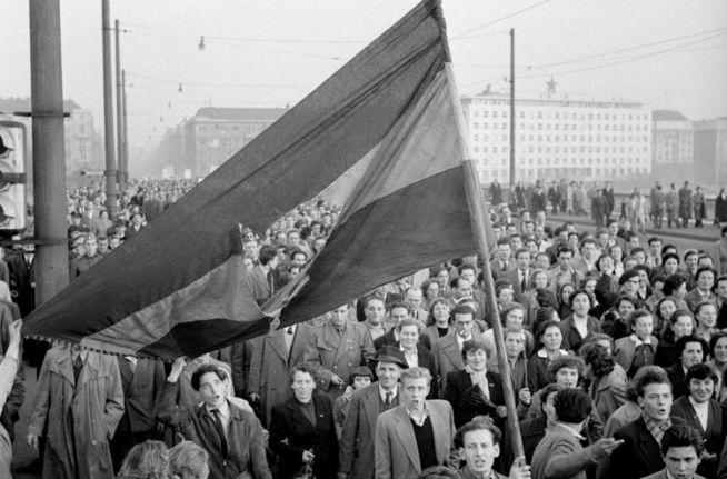 1956-os forradalom (Fotó: MTI)