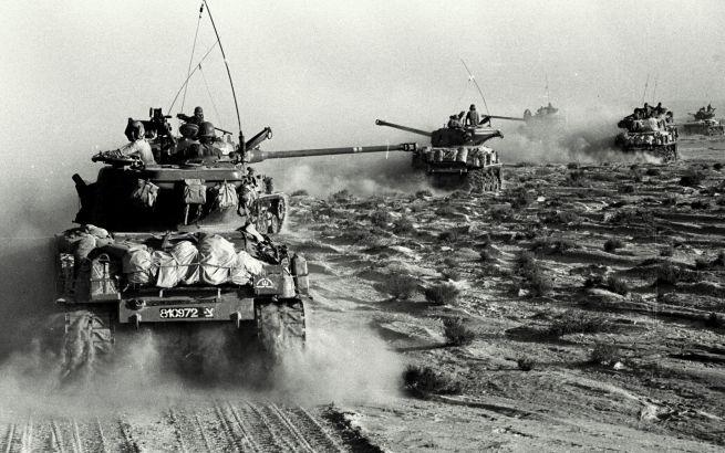 Izraeli tankok a hatnapos háborúban