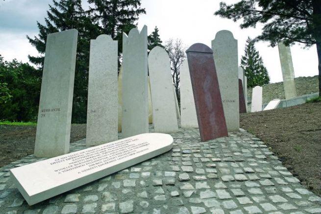 A balfi nemzeti emlékhely szoboregyüttese