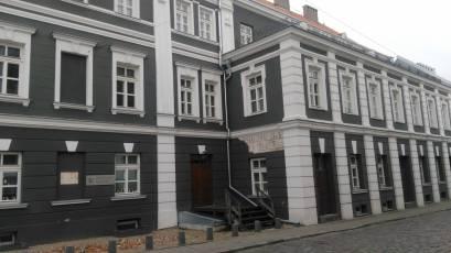 A 18. századi épület Kaunas belvárosában (Fotó: Kibic)