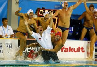 2013-ben Barcelonában a férfi vízilabda-világbajnokságonaranyérmesek lettek / Fotó: GettyImages