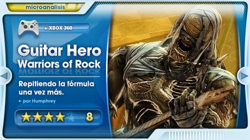 Análisis Guitar Hero: Warriors of Rock