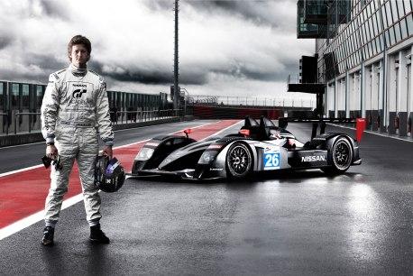 Lucas Ordoñez, piloto GT Academy