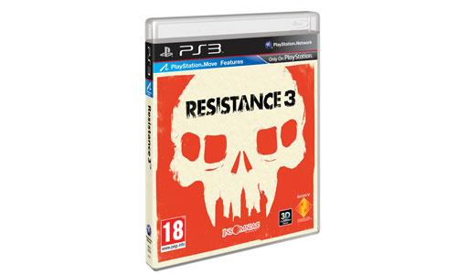 Carátula de Resistance 3
