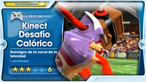 Desafío Calórico Kinect Sports