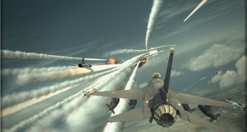 Ace Combat Gameplay