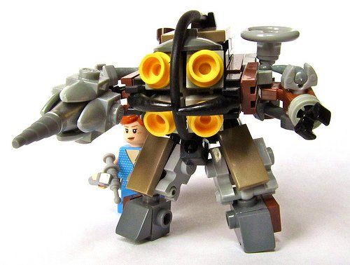 Bioshock meets Lego