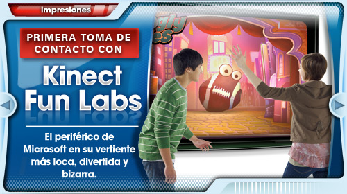 Toma de contacto con Kinect Fun Labs