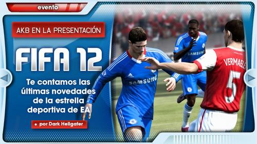 Asistimos a la presentación de FIFA 12
