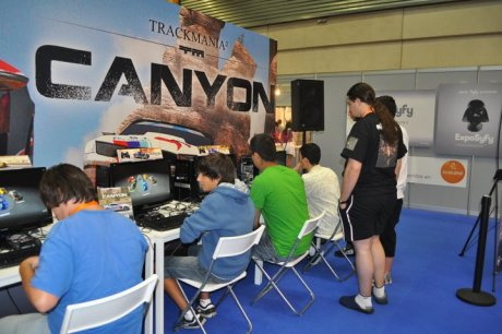 Trackmania 2: Canyon en la Euskal Encounter