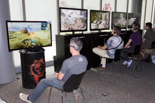 Evento Gears of War 3