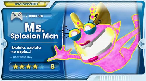 Ms. Splosion Man Análisis