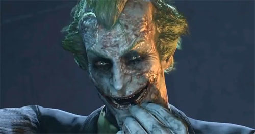The Joker en Batman Arkham City