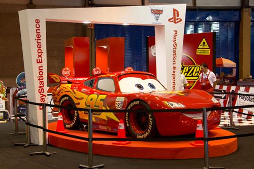 Cars 2 en el GameFest 2011