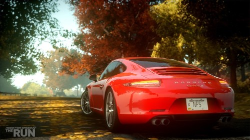 Porsche 911 S Carrera en Need for Speed: The Run