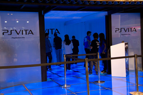 PS Vita en GameFest 2011