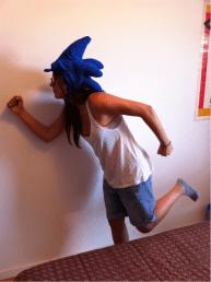 Gorro Concurso Aniversario Sonic