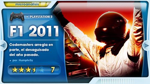 F1 2011 Análisis