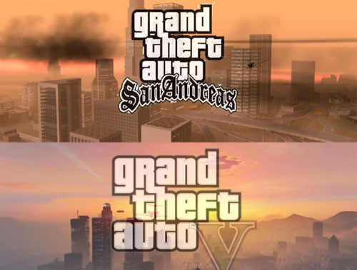 GTA V vs San Andreas