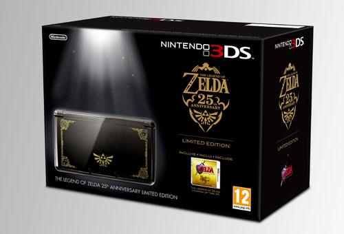 Nintendo 3DS Edicion 25 aniversario Zelda