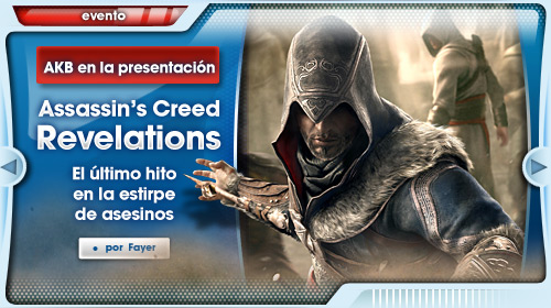 Presentación Assassin's Creed Revelations