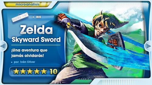 Análisis Zelda Skyward Sword
