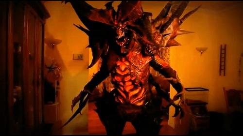 [AKB] Cosplay Diablo