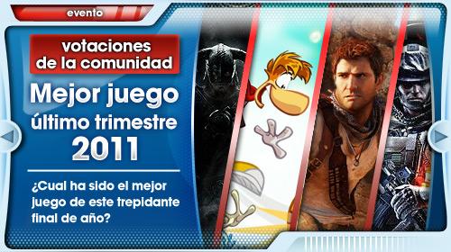 Votaciones mejor juego último trimestre 2011