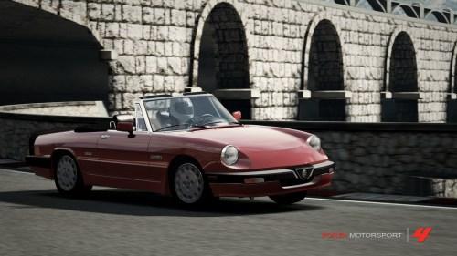 Forza 4 Alfa Romeo Spider Quadrifoglio Verde
