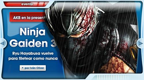 Evento Ninja Gaiden 3