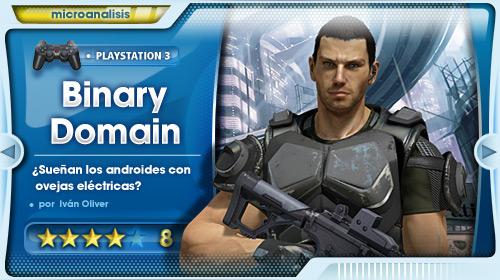 Análisis Binary Domain para Playstation 3